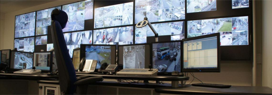 Видеонаблюдения в банках